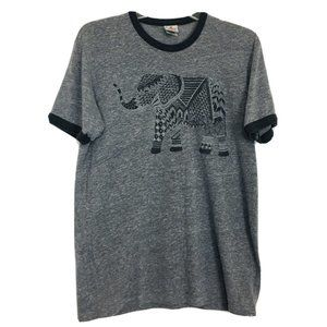Junk Food Clothing Elephant Graphic Tee Shirt S